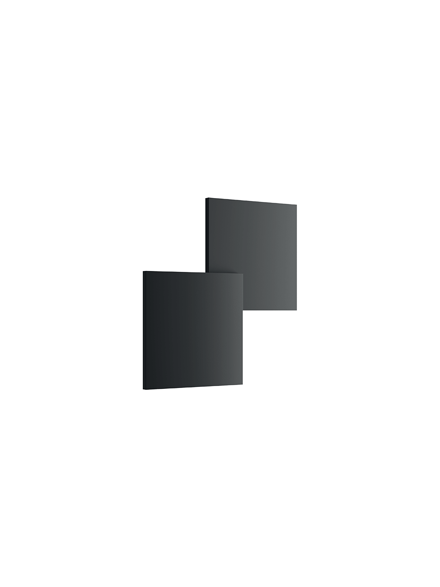 Puzzle-Double-Square-Wall-Black