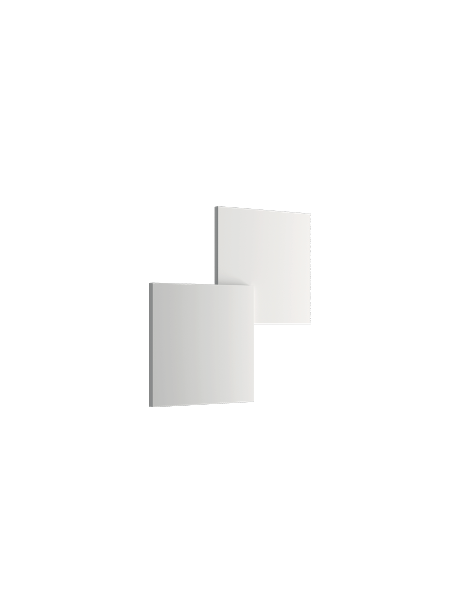 Puzzle-Double-Square-Wall-White